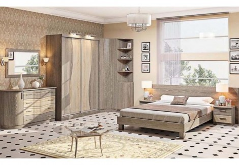 Спальня СП-4540 Хай-тек Комфорт Мебель