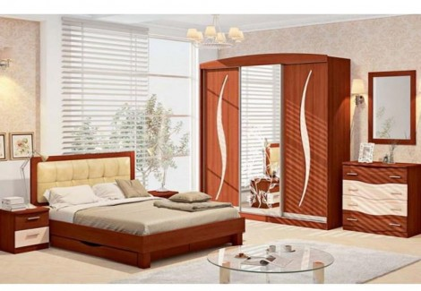 Спальня СП-4541 Хай-тек Комфорт Мебель