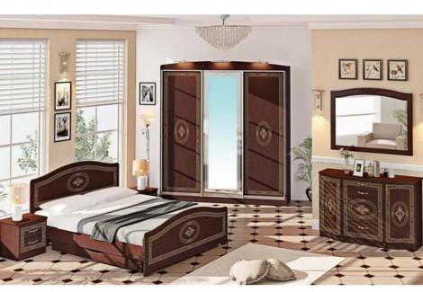 Спальня СП-4543 Инкрустация Комфорт Мебель