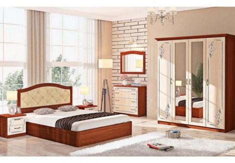Спальня СП-4552 Инкрустация Комфорт Мебель
