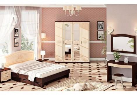 Спальня СП-4556 Классика Комфорт Мебель