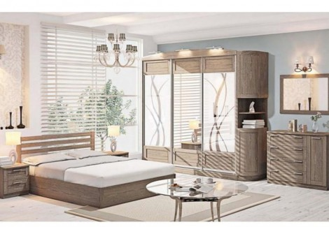 Спальня СП-4561 Престиж Комфорт Мебель
