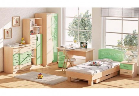 Детская ДЧ-4108 Волна Комфорт Мебель