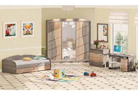 Детская ДЧ-4110 Волна Комфорт Мебель