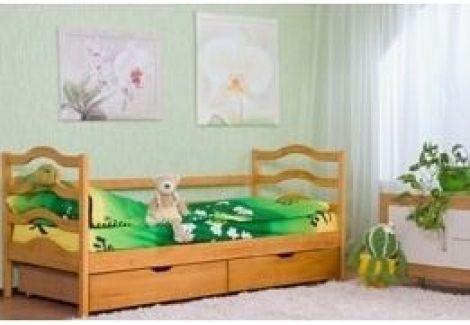 Кровать одноярусная б/м с шухлядами