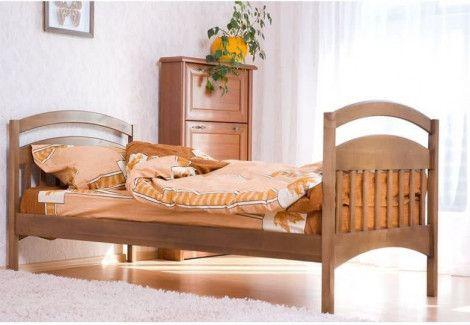 Кровать одноярусная б/м