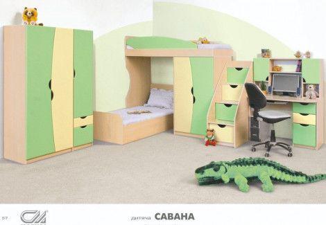 Детская Саванна Світ меблів
