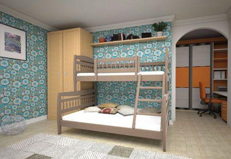 Кровать детская  «Комби 1» (ТИС)
