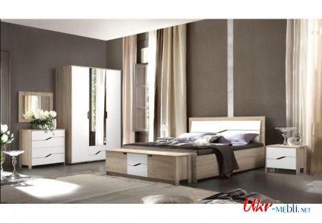 Модульная спальня Доминика Мастер–Форм
