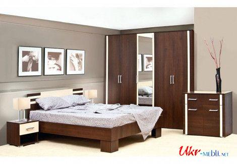 Спальня Элегия Світ Меблів