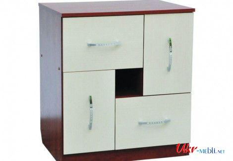 Комод - 2x2 (РТВ мебель)