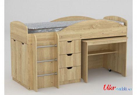 Кровать «Универсал» (Компанит)