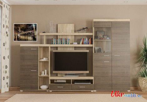 Гостиная «Кай» New (Мебель-Сервис)