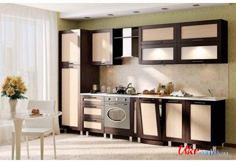 Кухня «Престиж» (Комфорт мебель) посекционно