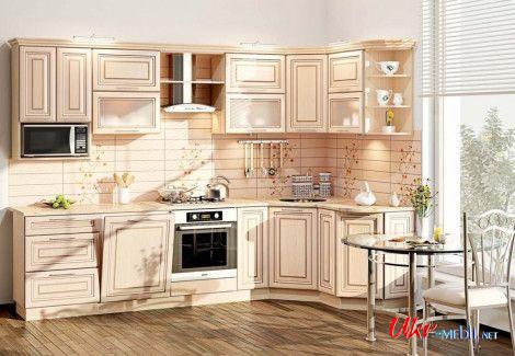 Кухня «Премиум» (Комфорт мебель) посекционно