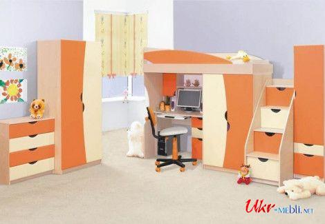 Детская «Савана» оранж (Світ меблів)