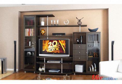 Гостиная «Рио-2» (Мебель-Сервис)