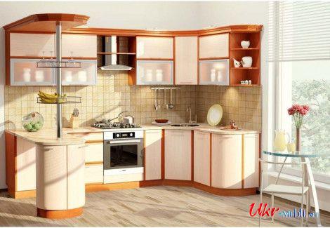 Кухня СОФТ (Комфорт мебель) посекционно